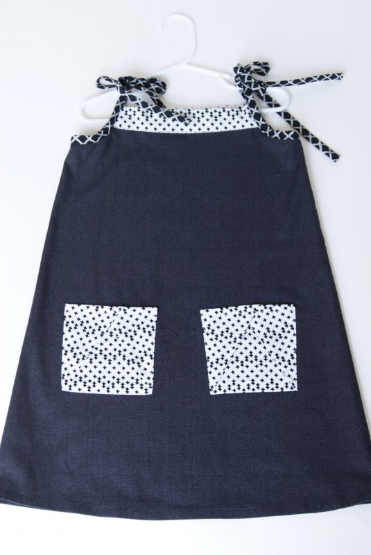 Oliver + S Popover Sundress with Hopscotch Skirt pockets