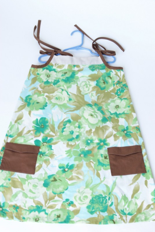 Oliver + S Popover Sundress with Jump Rope Dress pockets