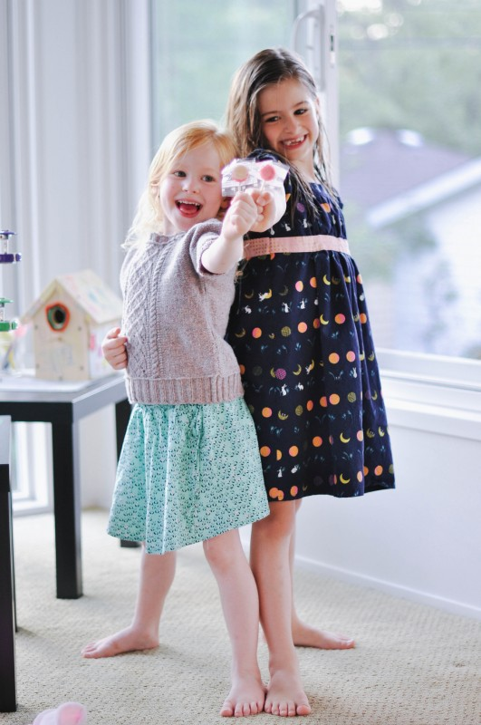 Oliver + S Swingset Skirt and Garden Party Dress