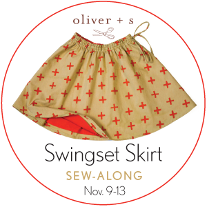Oliver + S Swingset Skirt Badge