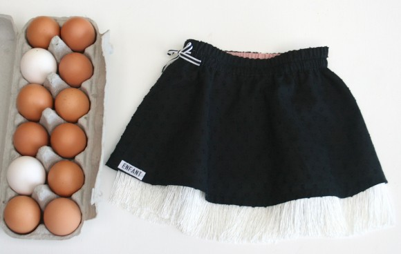 Oliver + S Swingset Skirt with fringe
