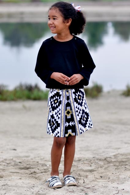 Oliver + S Sailboat Top and Butterfly Skirt
