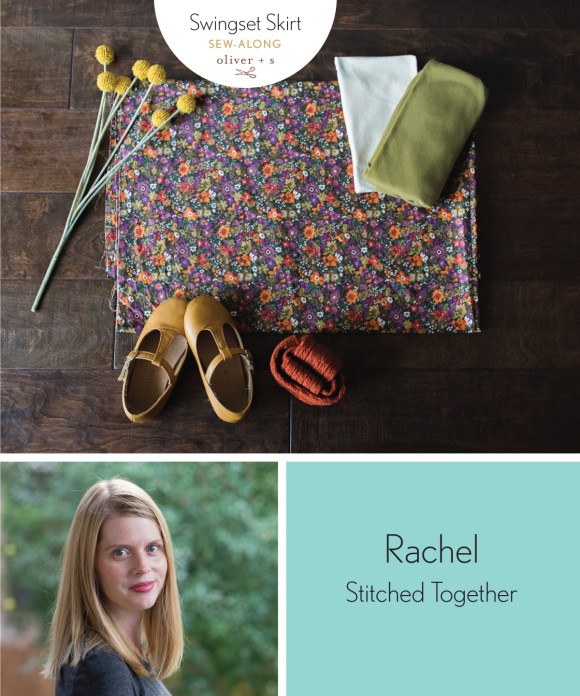 Rachel from Stitched Together shares her supplies for her Oliver + S Swingset Skirt