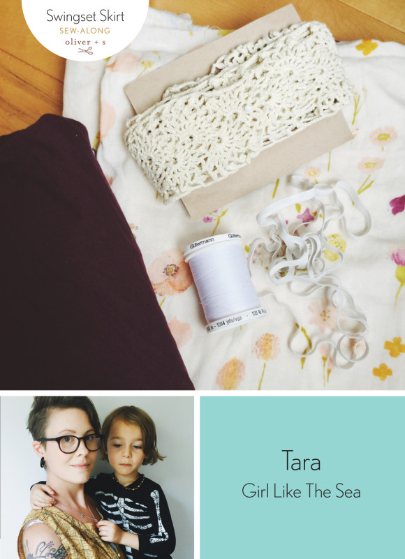 Tara from Girl Like The Sea shares her supplies for her Oliver + S Swingset Skirt