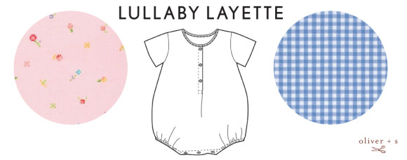 Oliver + S Lullaby Layette in Rose Quartz and Serenity