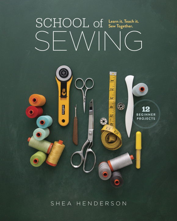 © Lauren Hunt from School of Sewing, reprinted with permission from Lucky Spool Media, LLC.