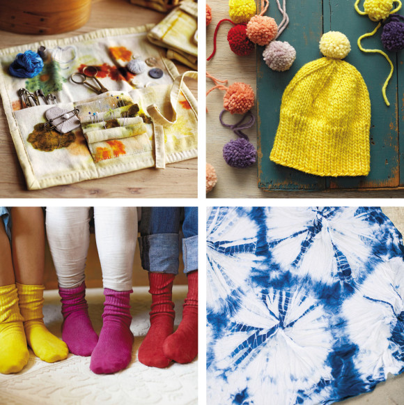 Natural dye project kits from A Verb for Keeping Warm