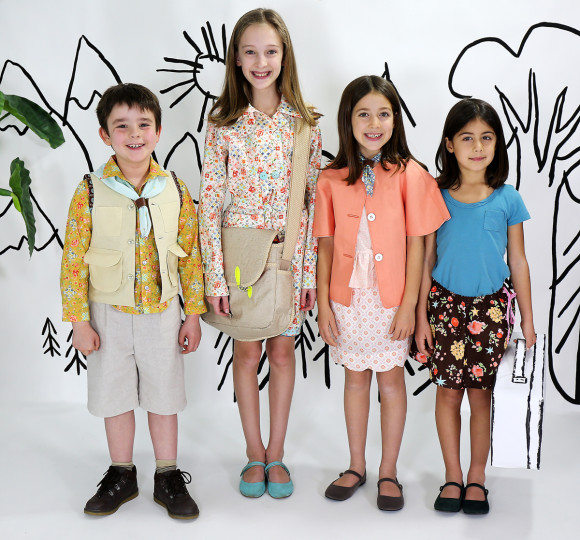 Woodland Clearing, Fabric by Liesl Gibson for Robert Kaufman