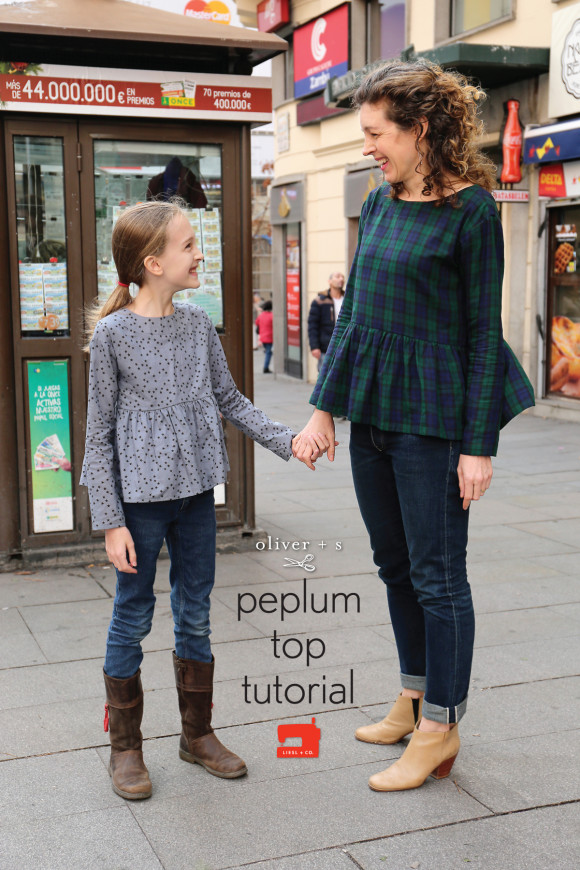 Peplum Top Tutorial