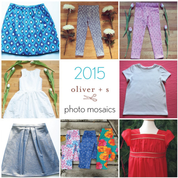 2015 Oliver + S photo mosaics