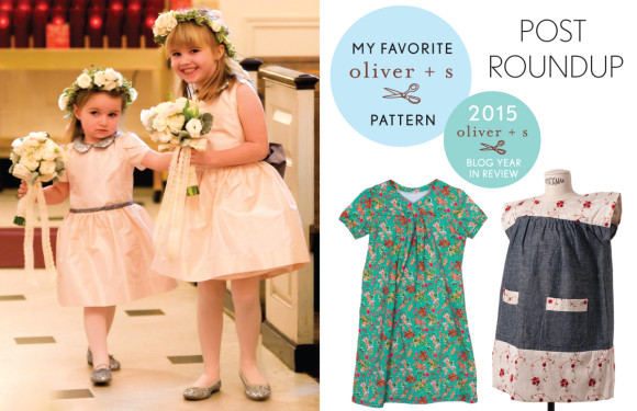 My favorite Oliver + S pattern post round-up for 2015