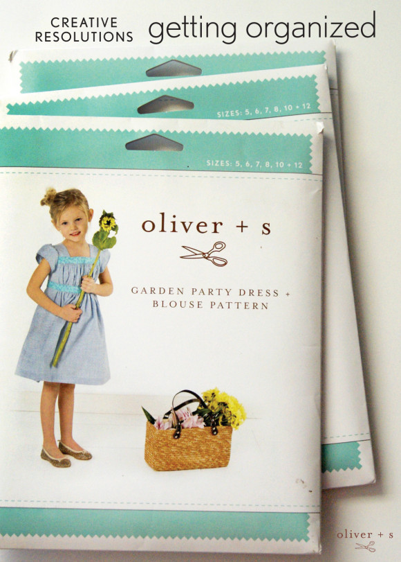 Organize your Oliver + S sewing patterns on a Pinterest board
