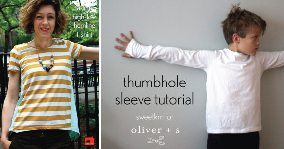 Oliver + S t-shirt tutorials
