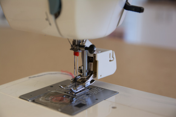Tips and tricks for twin needle hemming