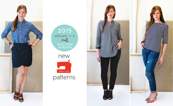 2015 Liesl + Co. sewing patterns