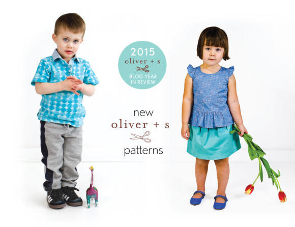 2015 Oliver + S sewing patterns