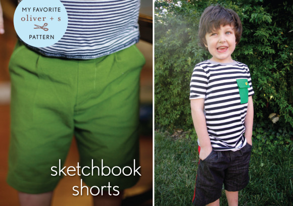 Oliver + S Sketchbook Shorts