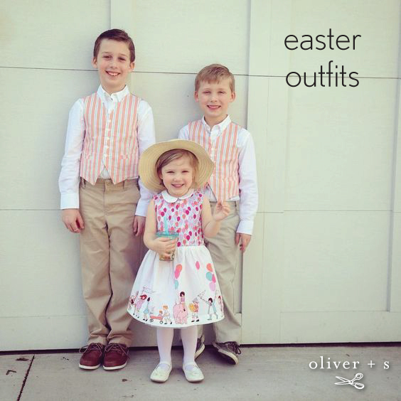 Oliver + S Art Museum Vests and Fairy Tale Dress