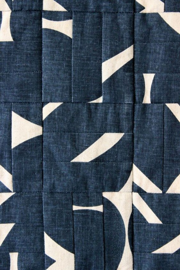 graphic contemporary quilt