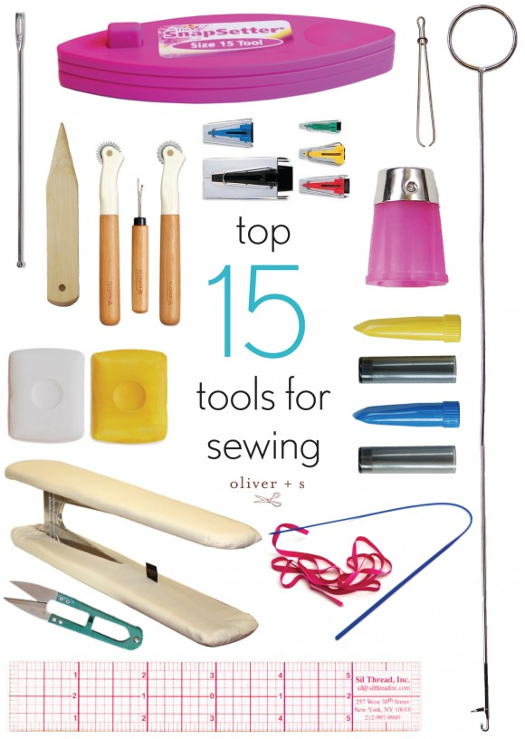 Top 15 tools for sewing