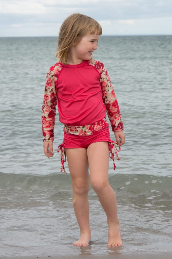 Oliver + S Field Trip Raglan T-shirt and Nature Walk Pants as beachwear