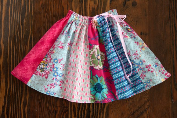 Pieced Oliver + S Swingset Skirt