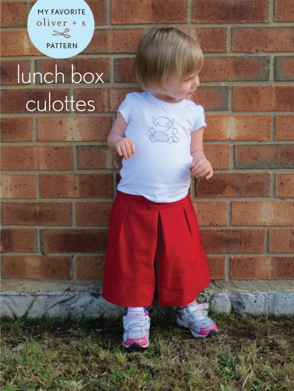 Oliver + S Lunch Box Culottes