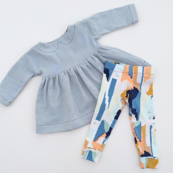 Oliver + S Playtime Tunic + Leggings