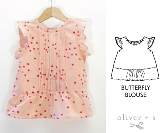 Oliver + S Butterfly Blouse