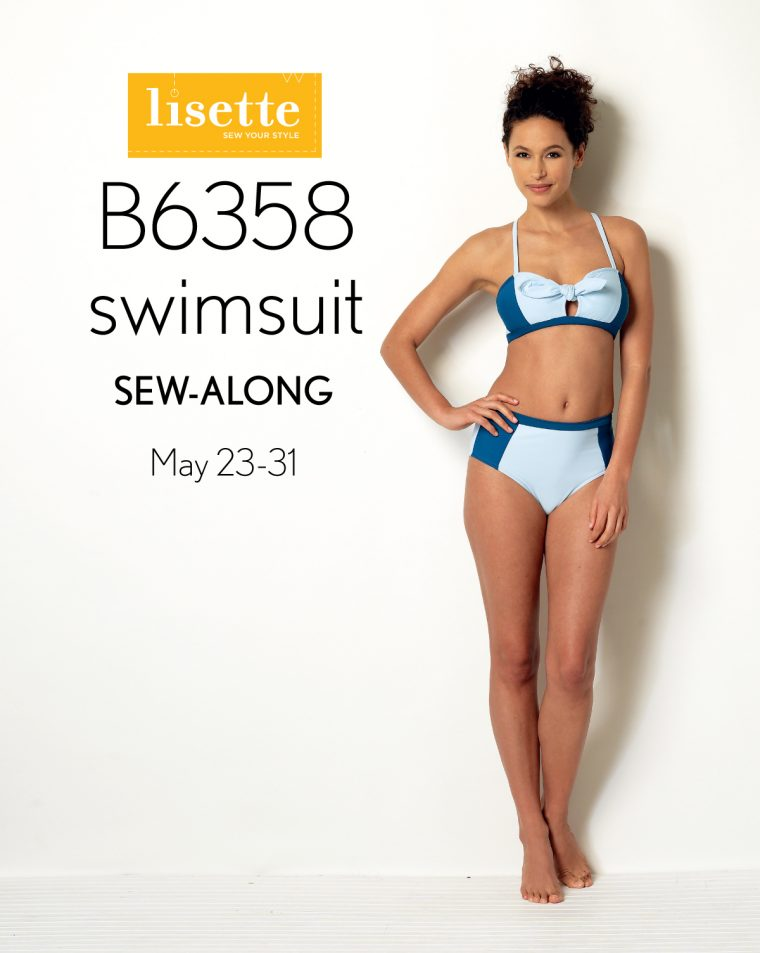 Join the Lisette B6358 Sew Along