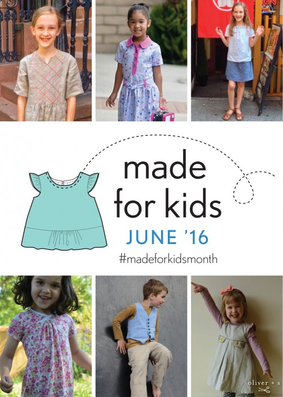 Made of kids month June 2016