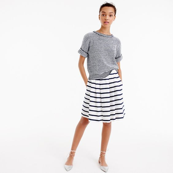 inspiration for an Everyday Skirt with a Bento Tee