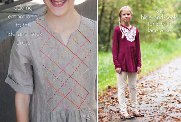 Oliver + S Hide-and-Seek Dress + Tunic