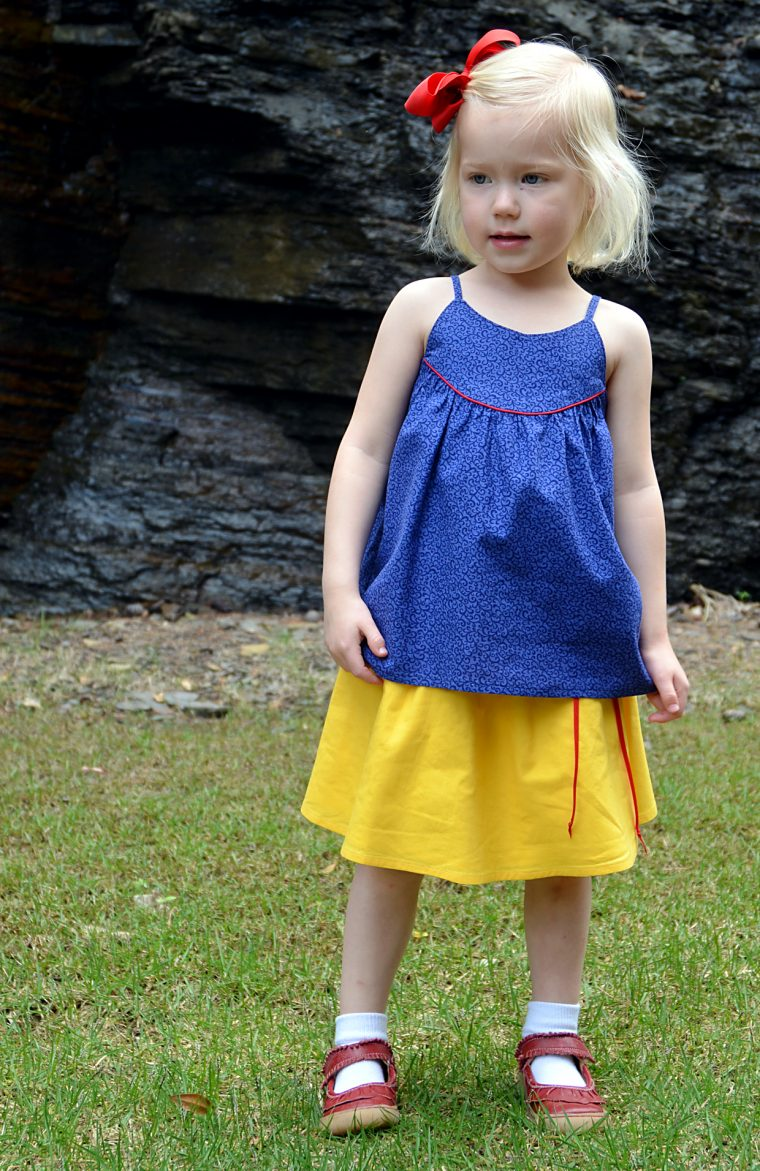 Oliver + S Swingset Tunic + Skirt