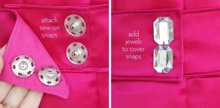 How to make a jeweled belt