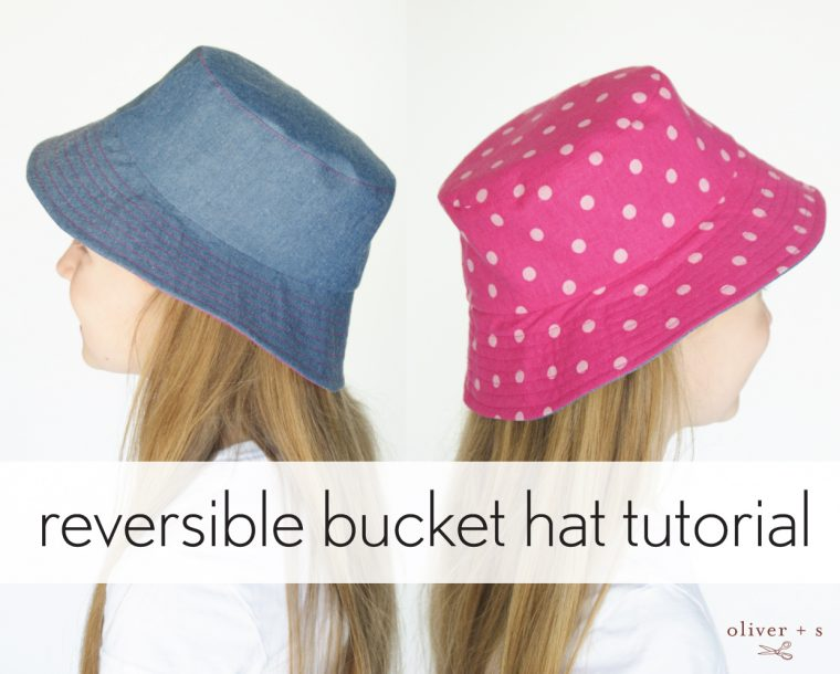 reversible bucket hat tutorial  2a8c42d07b2