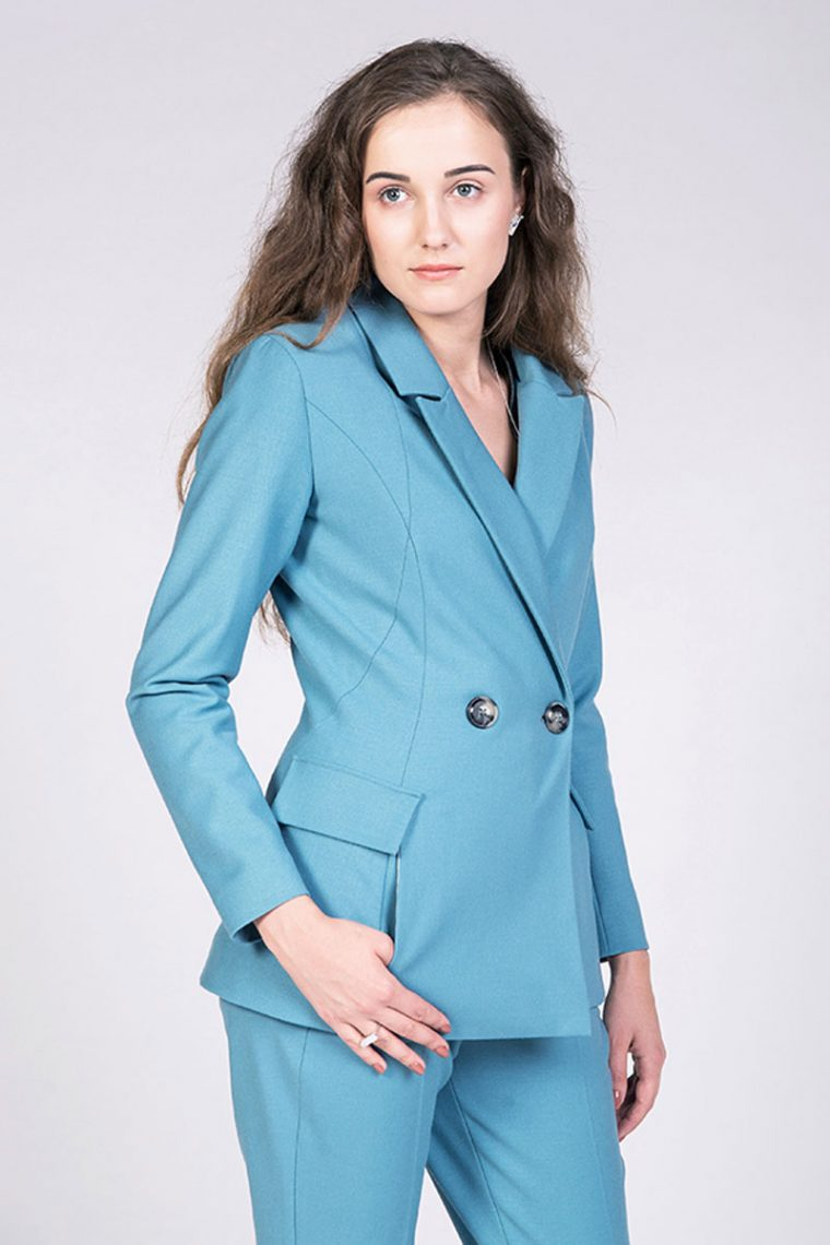 The Aava Tailored Blazer pattern by Named Patterns