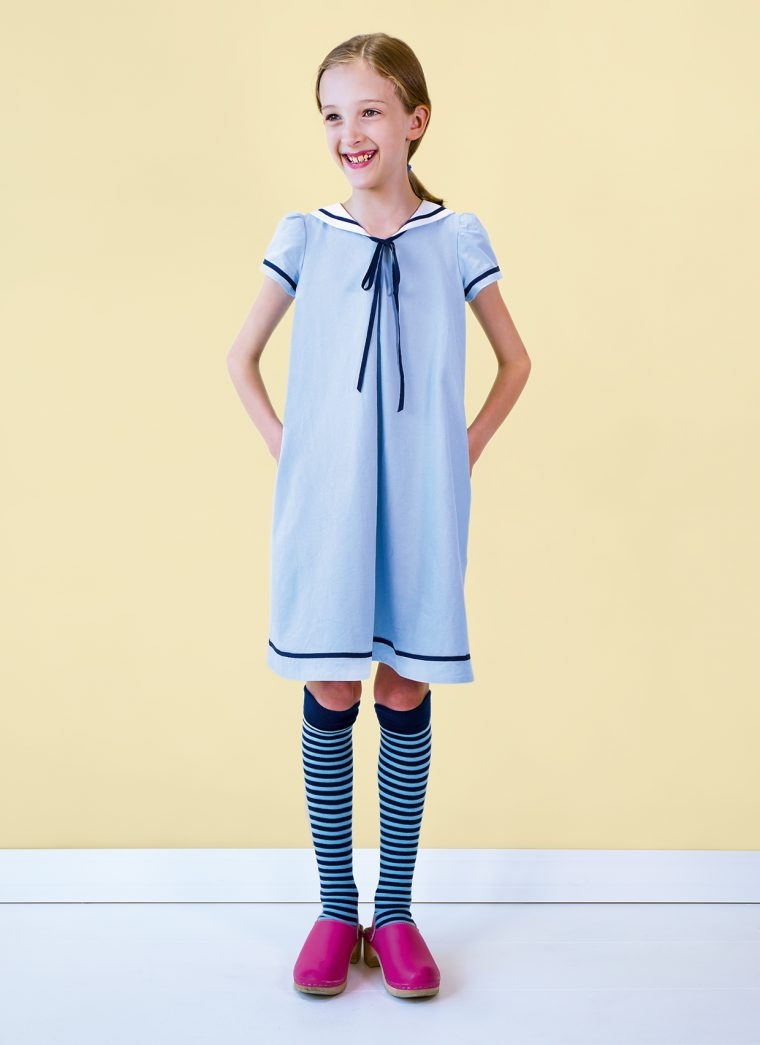 sailor-collar-a-line-dress
