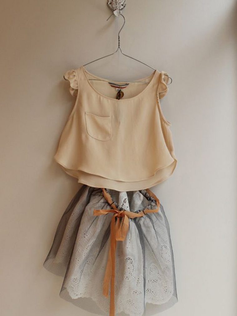 inspiration for an Oliver + S Butterfly Blouse and tutu