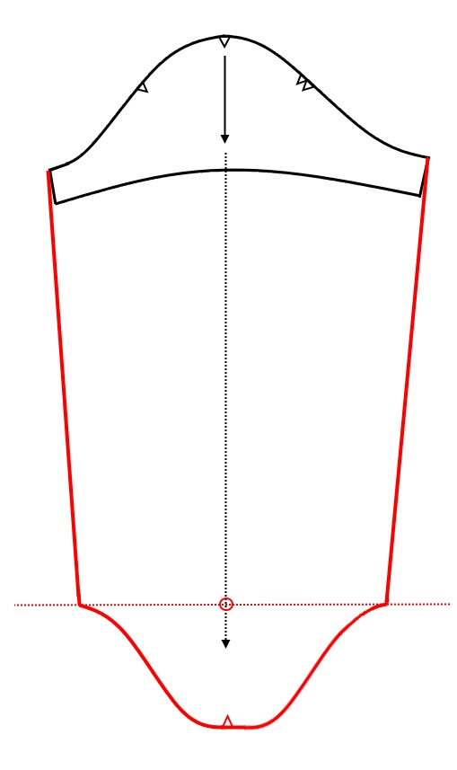 altered sleeve pattern