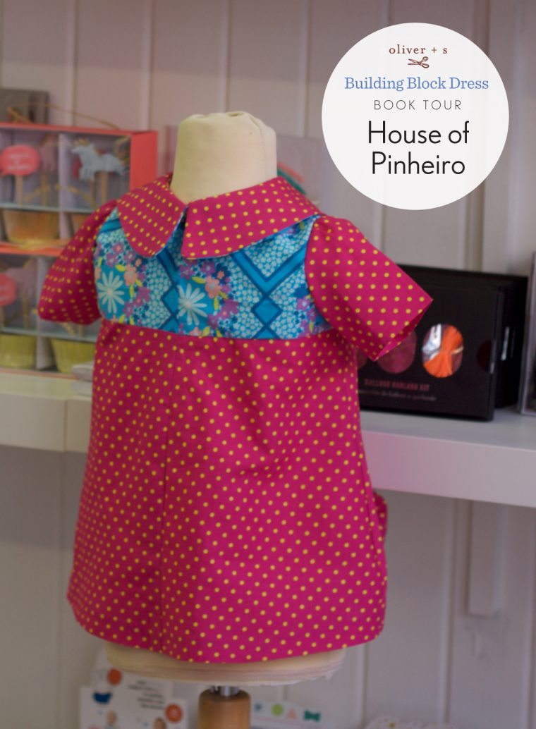 Oliver + S Building Block Dress book tour