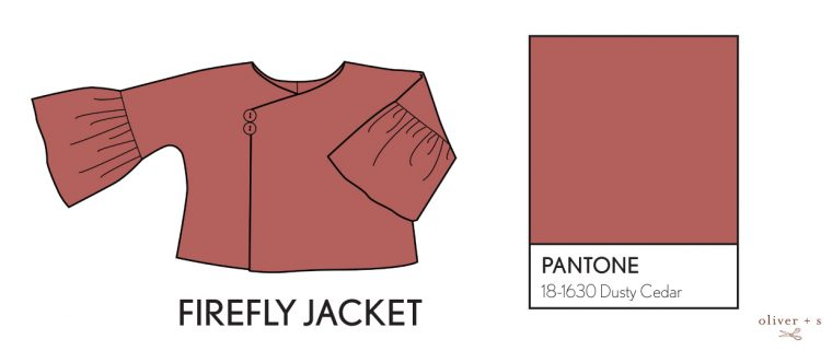 Oliver + S Firefly Jacket in Pantone fall colors