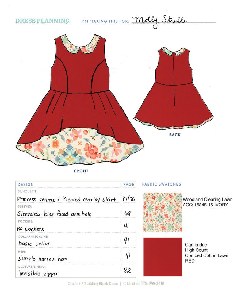 Molly's Dress by Darcy Struble