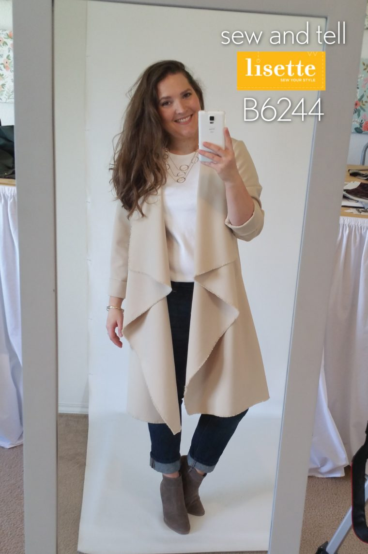 Lisette for Butterick B6244 Coat