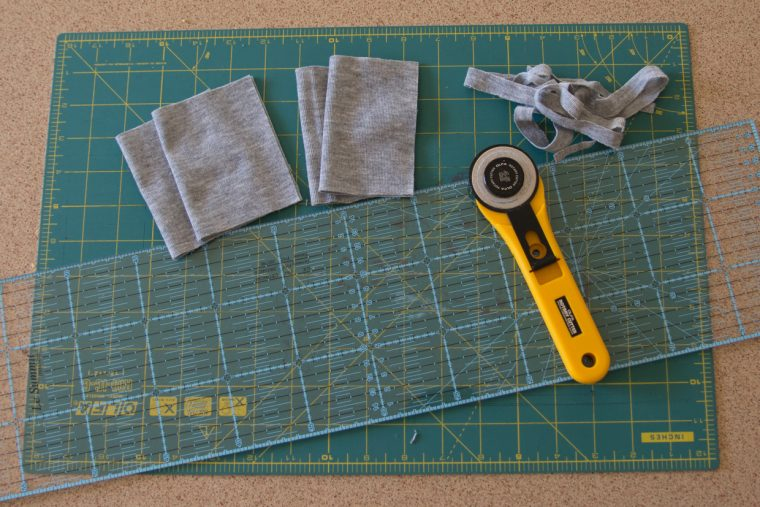 Adding cuffs to knit sewing patterns in order to make pajamas