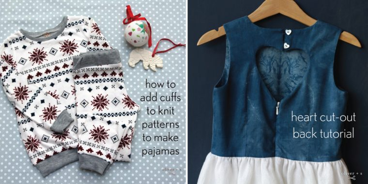 Oliver + S holiday sewing tutorials
