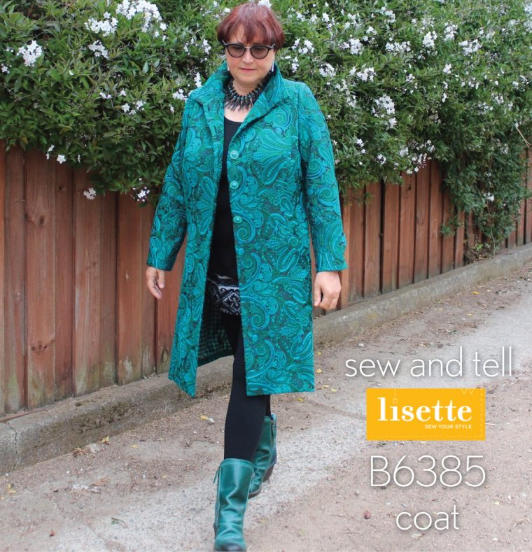 Lisette for Butterick B6385 Coat