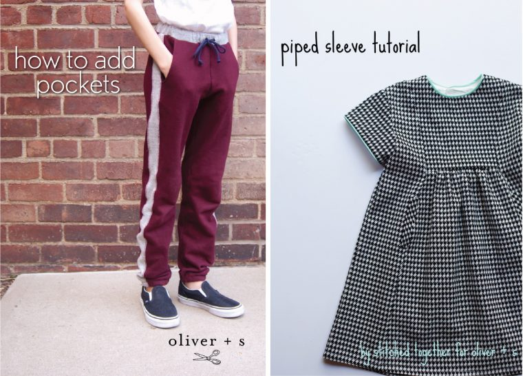 Oliver + S winter sewing tutorials