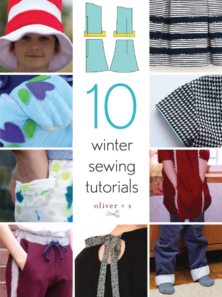 10 Oliver + S winter sewing tutorials