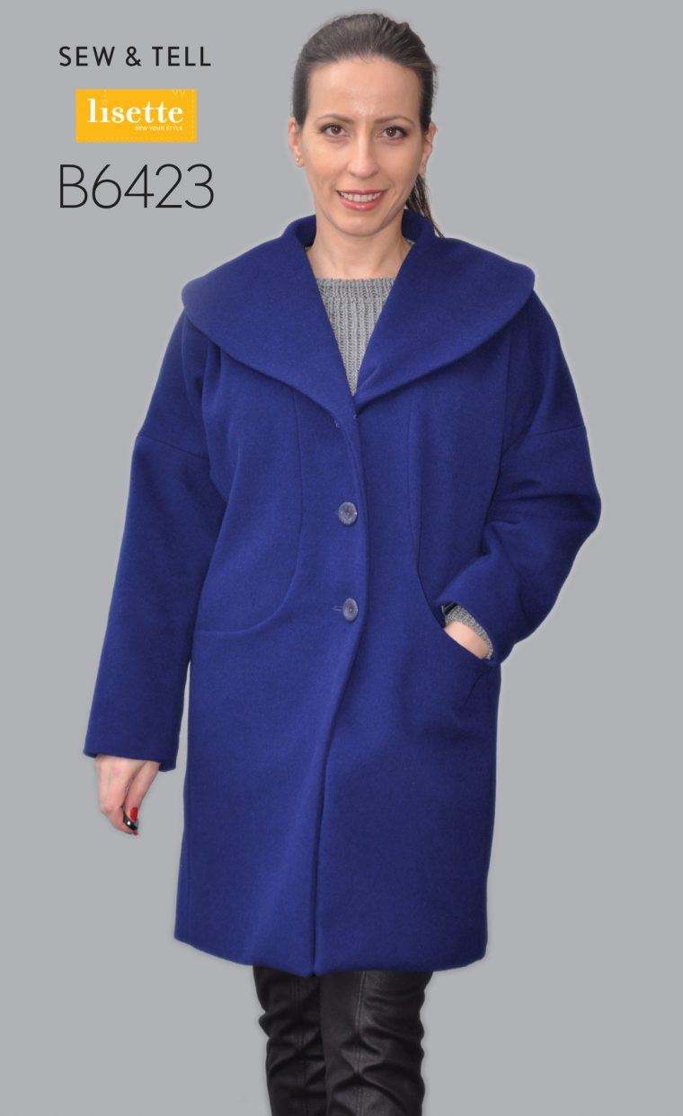 Lisette for Butterick B6423 coat